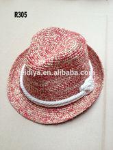 Fashion High quality madagascar raffia hats/caps