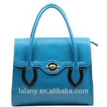 Lelany fashion new style royal blue tote bag from China