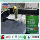 Basement waterproofing single component asphalt based polyurethane paint for concrete