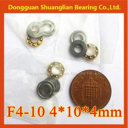 Miniature thrust bearing made in cixi thrust Ball Bearing F4-10M F4-10