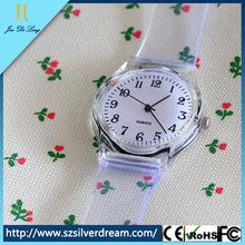 2014 Wholesale Hot Transparent Quartz vogue watch brand watch good looking watch