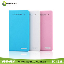 Ultra slim Portable Universal external good quality power bank hippo 12000mah for Tablet PC and Smartphones