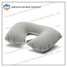 2014 promotional fashion flocked inflatable pillow