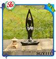 أسود لون الراتنج تمثال اليوغا sgy111 النفط المرأة العارية رصاص