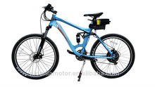 26inch electric bike 36v 350w with brushless motor and lithium ion battery