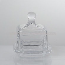 SMART SQUARE GLASS BUTTER DISH