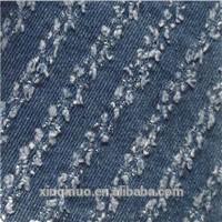 Wash water tie-dye piercing twill 100%Cotton jean/denim fabric for garment pants hat bag shoe