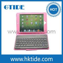 Gtide KB554 side wireless bluetooth keyboard case for ipad mini bluetooth keybard made in china