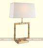 brass color iron Store reading lamps indoor lamp post decorations