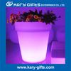 Flower Pot Rechargeable Plastic LED Plant Pot