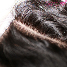homeage human hair silk base closure fashion china hairpieces