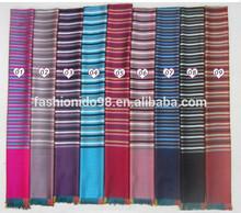 hot selling striped printed shawl wholesale for women Fall/Autumn Winter design,achecol,bufanda infinito,bufanda by Real Fashion
