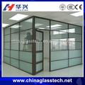 aprobado por la ce de aluminio de las gotas de lluvia de vidrio sin marco puerta corredera