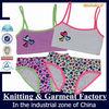 little girl underwear set/underwear panty for girls/child bra