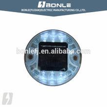 BSL-16D Round Shape Led PC Reflective Solar Road Stud,Caution Light