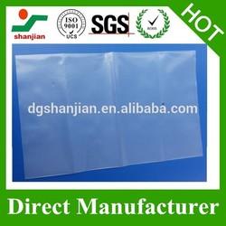 manufacturer cheap custom slider zip lock plastic bag