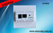 802.3af poe ap,inwall ap support IPTV and smartphones,access point for telephony devices