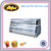 KFC Warmer Showcase /Electric Hot Food Display Cabinet/KFC Chicken Warming Display/Heated Food Showcase