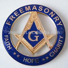 custom decoration masonic car emblems wholesale