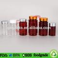 250ml, 300ml la medicina de plástico botella sin bpa, de color ámbar de la botella de pet de la fábrica