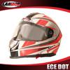motocross helmet with visor