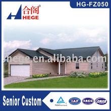 Beautiful village stype design china prefabricated homes