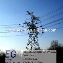 electric transmission base station pole lattice