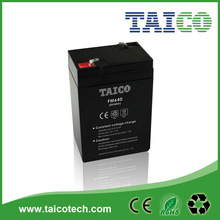 Rechargeable 6v 4ah sealed lead acid battery for scales