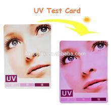Eco-friendly Photosensitive Discoloration UV Test Card