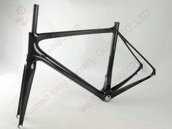 Super light carbon road racing frameset 700c carbon bicycle frames used carbon road bikes