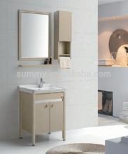 (SA-9610) Aluminium Alloy free standing cheap Bathroom Vanity