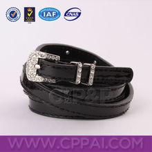 Diamond metal belt buckle of colorful wholesale leather belts