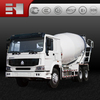 Sinotruk Howo 6x4 german technology and quality 12m3 concrete mixing truck made in China!