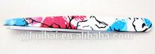 2014 new popular colorful painting beauty eyebrow tweezers/rounded tweezers for eyebrow led/lady eyebrow tweezers