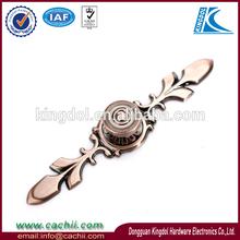 red bronze color zinc handles cabinet door wardrobe drawer handles