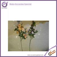 k1682 decorative artificial flower rose long stem heads