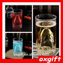 Squali oxgift creativo vetro/vetro rosso birra liquore calice/champagne coppa originalità alieno tazza