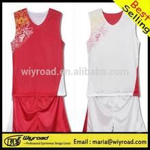 Accept sample order european basketball uniform/custom made basketball ball uniform/comfortable basketball wear
