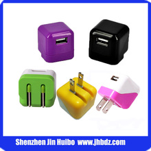 Environmental Folding Wall Plug Compatible for iphone/Android Charger