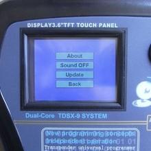locksmith tool super nd900 transponder key programming machine from factory