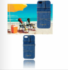 New fashionable jeans material durable mobile case for samsung