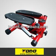 elegant Stepper cardio twist indoor Elliptical air bike with dumbell leg twist stepper