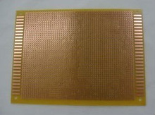 New and original double Side 12 * 18 cm Glass fiber Blank Copper Clad Printed Circuit Board 12 * 18 cm Universal Prototype P