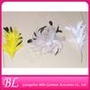 new fashion feather flower brooch