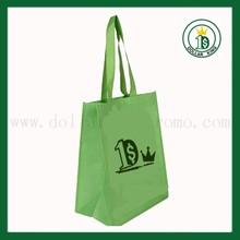 Green Custom Non Woven Bag,Promotional PP Non Woven Shopping Bag,High Quality Non Woven Tote Bag