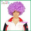 Wholesale Synthetic Purple Halloween Party Afro Wig