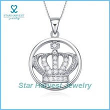 wholesale necklace costume crown crystal jewelry
