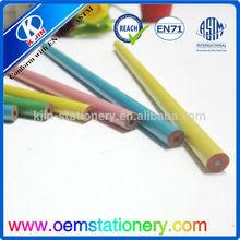 permanent eyebrow pencil/wholesale wood black 7 inch china pencil