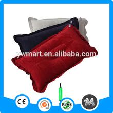 Promotional folding PVC best inflatable neck pillow