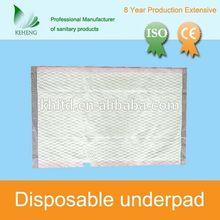 150*60cm incontient non-woven purple disposable mat